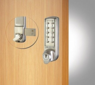 CL2200 Surface Dead Bolt Satin