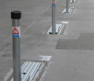 Stealth Parking Post