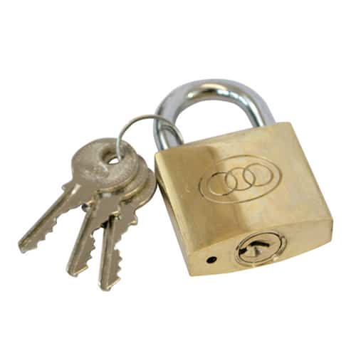 Contract Brass Padlock