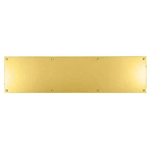 Kicking Plate Brass