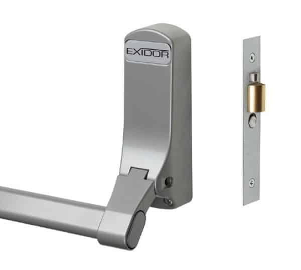 Exidor 305 Mortice Silver