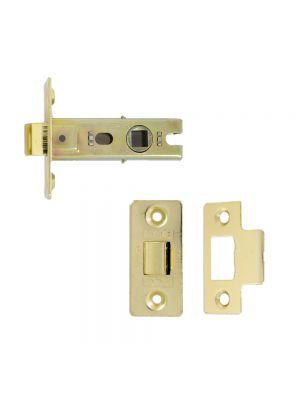 Doorspek Certifire Tubular Latches – Brass, 76mm