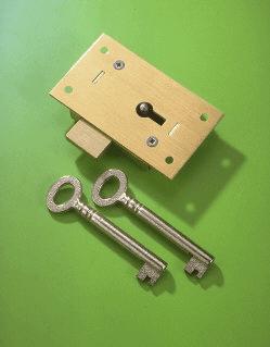 No 36 Straight Cupboard Lock