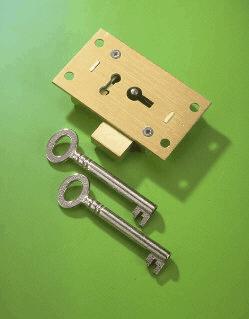 No 51 Straight Cupboard Locks