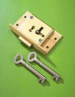 No 61 Cut Cupboard Lock