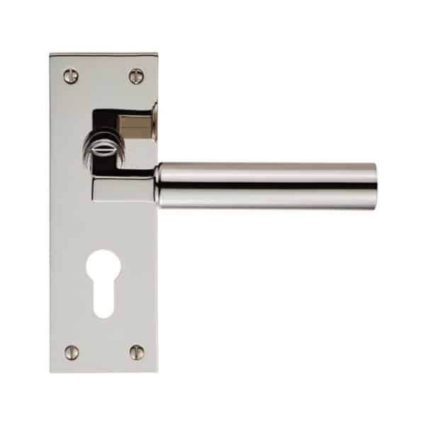 CARLISE BRASS AMIATA LEVER ON BACKPLATE EURO 47.5MM PSS