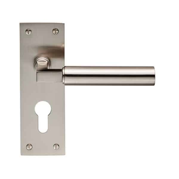CARLISE BRASS AMIATA LEVER ON BACKPLATE EURO 47.5MM SSS