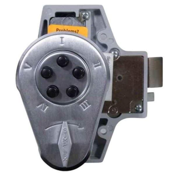 Kaba 919 (NL200) Deadlocking Digital Door Lock Satin Chrome
